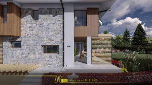 Еднофамилна жилищна сграда с РПЗ 300m2